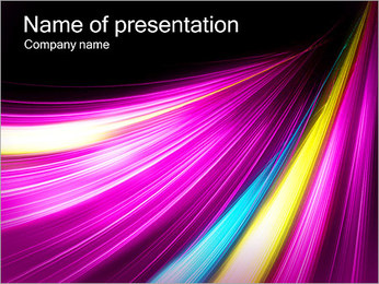Lilac Background PowerPoint Template