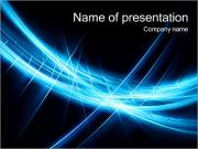 Abstract Dark Blue PowerPoint Templates