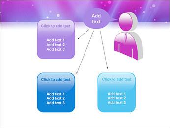 Couleur de la lumière Abstraction Modèles des présentations  PowerPoint - Diapositives 12