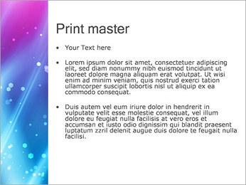 Couleur de la lumière Abstraction Modèles des présentations  PowerPoint - Diapositives 24