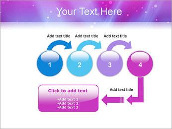 Couleur de la lumière Abstraction Modèles des présentations  PowerPoint - Diapositives 4