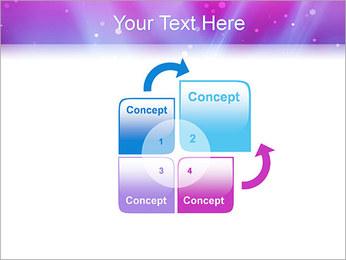 Couleur de la lumière Abstraction Modèles des présentations  PowerPoint - Diapositives 5