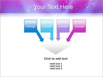 Couleur de la lumière Abstraction Modèles des présentations  PowerPoint - Diapositives 8