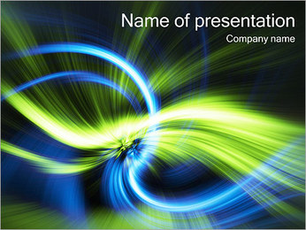 Amazing Abstraction PowerPoint Template