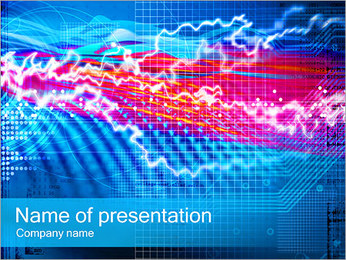 Sound Abstraction PowerPoint Template