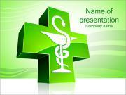 医療のシンボル PowerPointプレゼンテーションのテンプレート