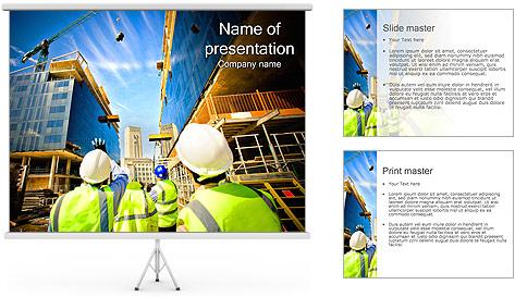 Projeto de Construção Modelos de apresentações PowerPoint