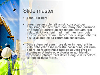 Construction Project PowerPoint Template