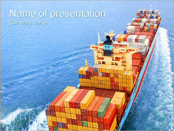 Goods Shipping PowerPoint Template