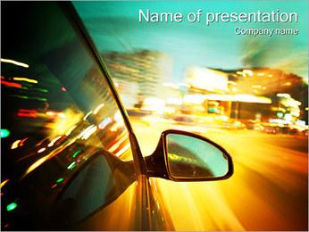 City Drive Modèles des présentations  PowerPoint - Diapositives 1
