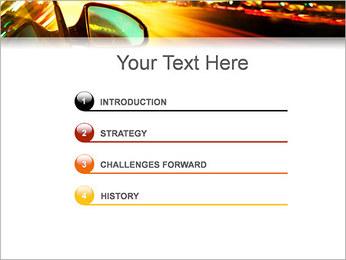 City Drive Modèles des présentations  PowerPoint - Diapositives 3