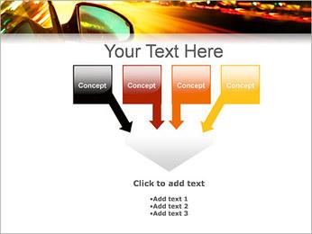 City Drive Modèles des présentations  PowerPoint - Diapositives 8