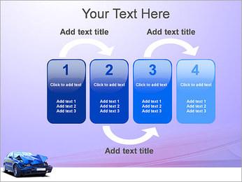 Accident de voiture Modèles des présentations  PowerPoint - Diapositives 11