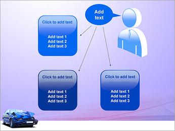 Accident de voiture Modèles des présentations  PowerPoint - Diapositives 12