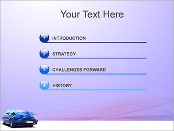 Accident de voiture Modèles des présentations  PowerPoint - Diapositives 3