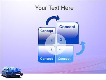 Accident de voiture Modèles des présentations  PowerPoint - Diapositives 5