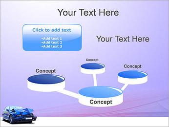 Accident de voiture Modèles des présentations  PowerPoint - Diapositives 9