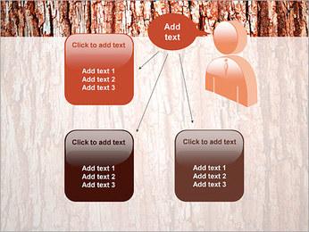 Écorce de l'arbre Modèles des présentations  PowerPoint - Diapositives 12
