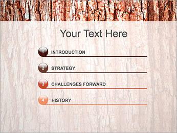 Écorce de l'arbre Modèles des présentations  PowerPoint - Diapositives 3