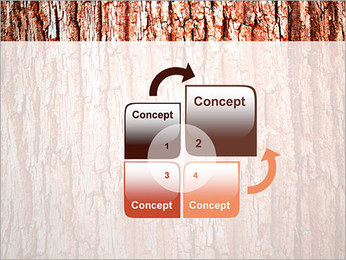 Écorce de l'arbre Modèles des présentations  PowerPoint - Diapositives 5