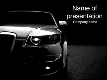 Expensive Car PowerPoint Template