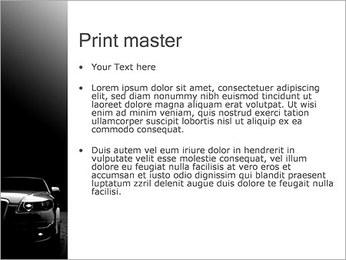 Car cher Modèles des présentations  PowerPoint - Diapositives 24