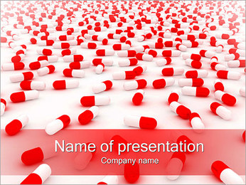 Pills Background PowerPoint Template