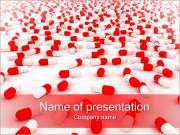 丸薬の背景 PowerPointプレゼンテーションのテンプレート