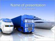 Ways Of Goods Transportation PowerPoint Templates