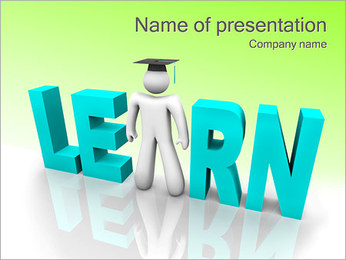 Learning Process PowerPoint Template