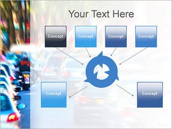 Traffic Jam Modèles des présentations  PowerPoint - Diapositives 10