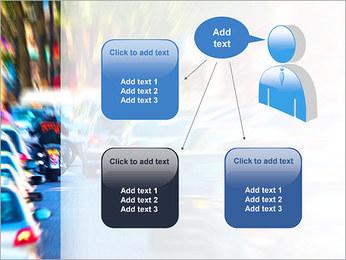 Traffic Jam Modèles des présentations  PowerPoint - Diapositives 12