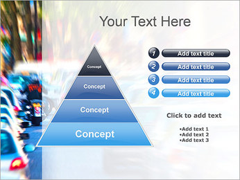 Traffic Jam Modèles des présentations  PowerPoint - Diapositives 22