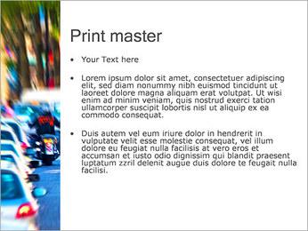 Traffic Jam Modèles des présentations  PowerPoint - Diapositives 24