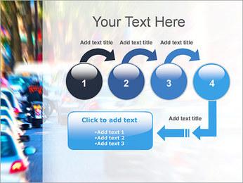 Traffic Jam Modèles des présentations  PowerPoint - Diapositives 4