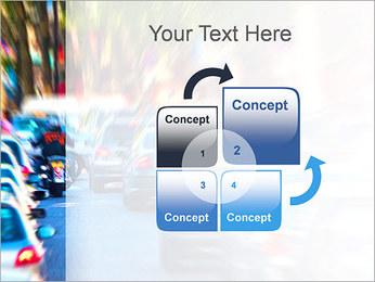Traffic Jam Modèles des présentations  PowerPoint - Diapositives 5