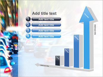 Traffic Jam Modèles des présentations  PowerPoint - Diapositives 6