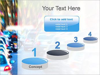 Traffic Jam Modèles des présentations  PowerPoint - Diapositives 7