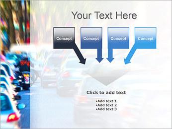 Traffic Jam Modèles des présentations  PowerPoint - Diapositives 8