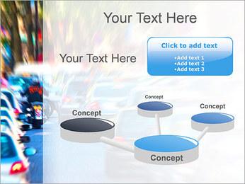 Traffic Jam Modèles des présentations  PowerPoint - Diapositives 9