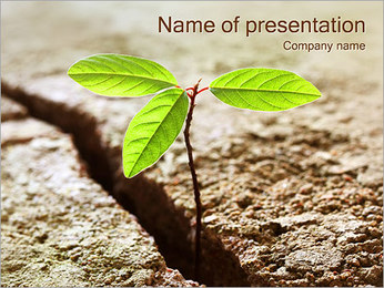 Green Plant PowerPoint Template