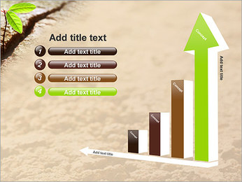 Plante verte Modèles des présentations  PowerPoint - Diapositives 6