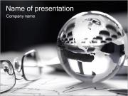 Silver Sphere PowerPoint Templates