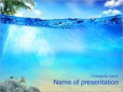 El agua del océano Plantillas de Presentaciones PowerPoint
