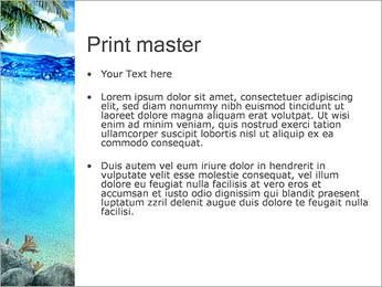 Ocean Water PowerPoint Template