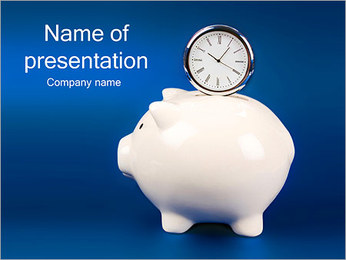 Money Box PowerPoint Template
