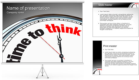 Time To Think PowerPoint Template
