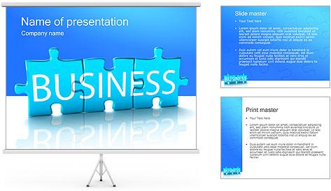 Скачать шаблону презентации powerpoint пазлы