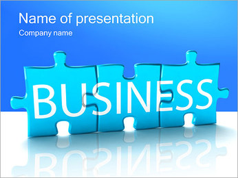 Business Puzzle PowerPoint Template