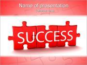 Success Puzzle PowerPoint Templates